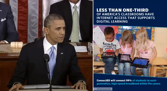 Obama ConnectEd initiative