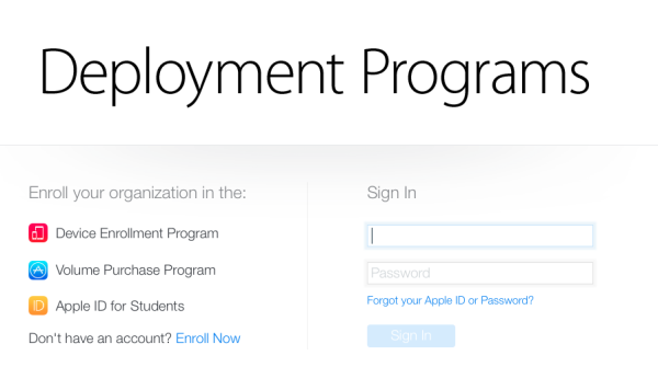 Apple becoming mass deployment friendly for BYOD districts