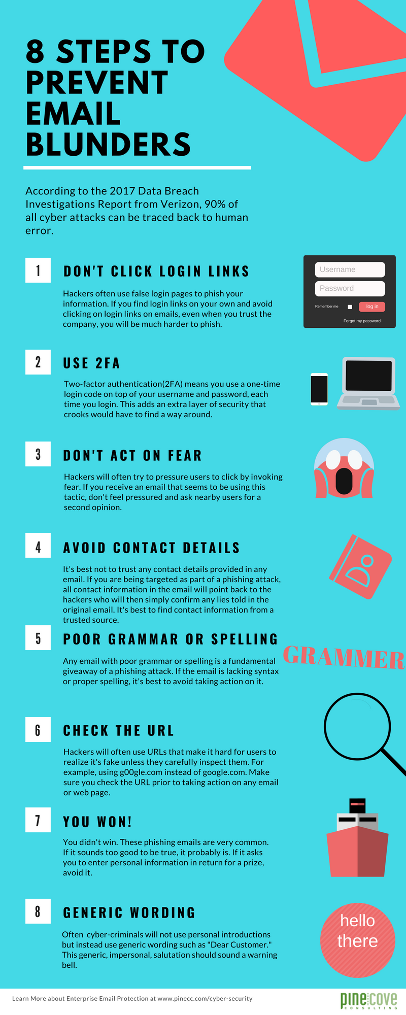 8 Steps to Prevent Email Blunders