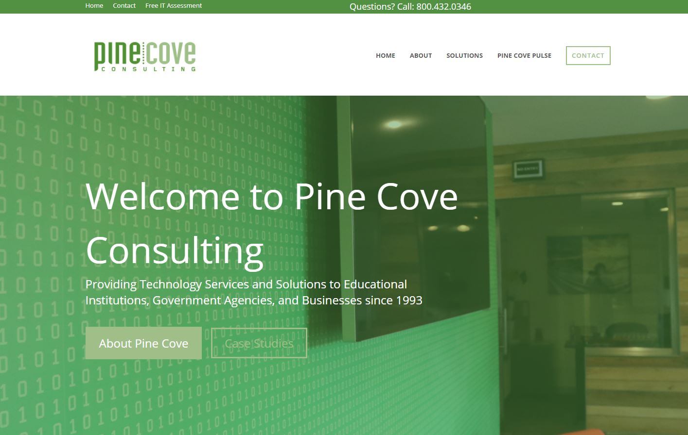 Pine Cove Consulting Homepage
