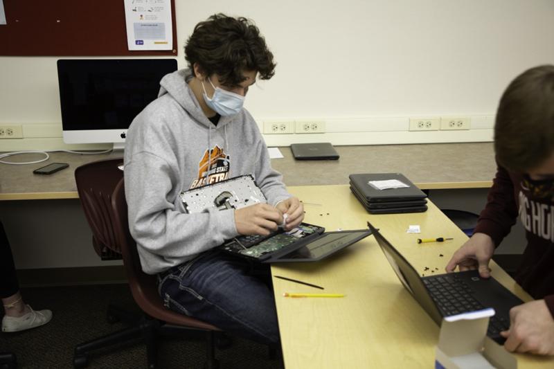 Chromebook Repair by Students