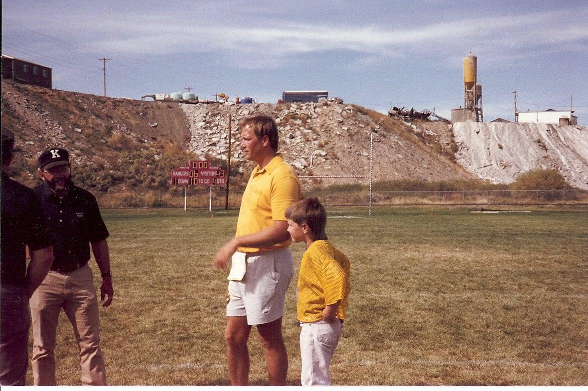 Rick and Brandon Football